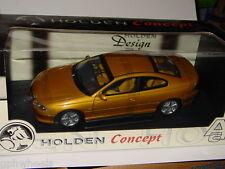 AUTOART HOLDEN CONCEPT COUPE -Gold, MIB 1/18