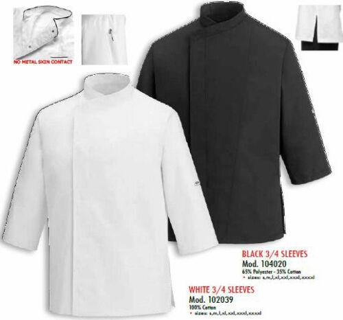 Jacket Sleeves 3 Manica Chef Egochef 4 Куртка Cuoco Giacca Kochjacke Tre Quarti UzTTSq
