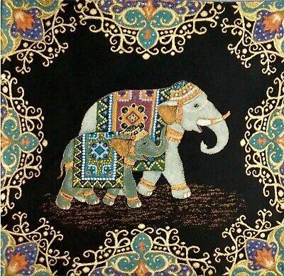 Gobelin Stoff Panel Textilbild NEU Hobby Handwerk AUF BESTELLUNG NÄHEN 48x48cm