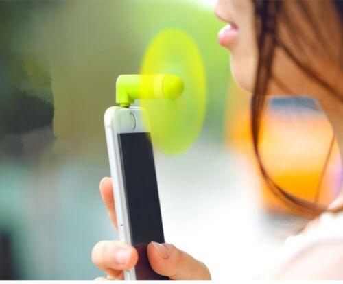 Mini Portable Samsung LG HTC Android Téléphone Portable MICRO USB Alimenté Cool ventilateur d/'air