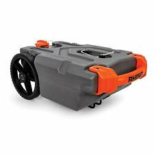 Camco 39000 Rhino Heavy Duty 15 Gallon Portable RV Waste Holding Tank with Hose
