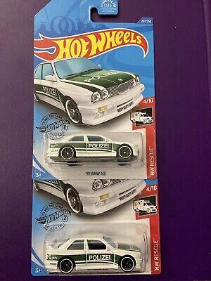 Hot Wheels 2020 Hw Schutz /'92 BMW M3 Polize