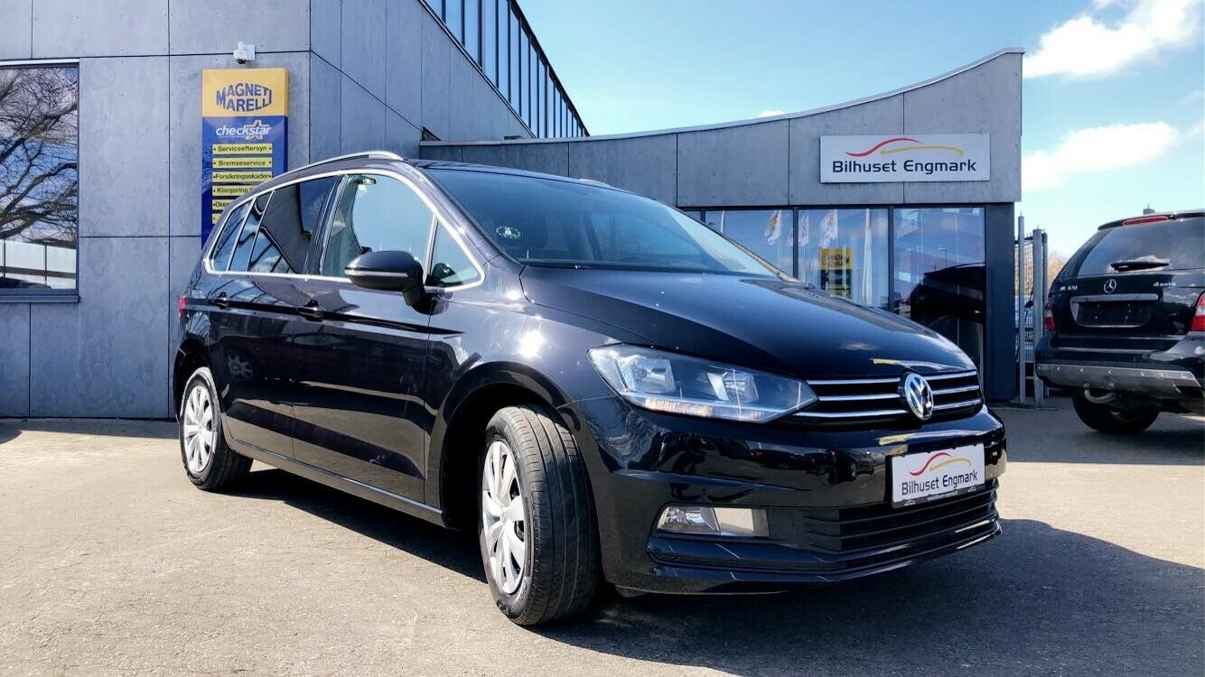 VW Touran 1,4 TSi 150 Comfortline 7prs 5d - 249.900 kr.