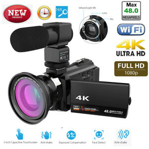 WiFi-4K-16X-1080P-HD-Digital-Video-Camera-Camcorder-Microphone-Wide-Angle-Len