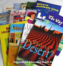 14 HARCOURT TROPHIES 3RD GRADE 3 GUIDED LEVELED HOMESCHOOL READERS #H312546
