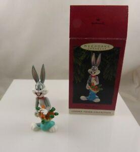 vintage-Bugs-Bunny-plastic-holiday-Christmas-ornament-1993-hallmark