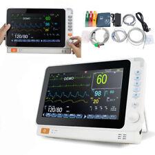 10 Inch Multi Parameter Monitor Icu Ccu Ecg Vital Sign Dental Patient Monitor