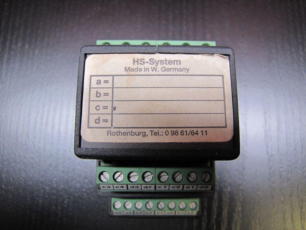 HS Systems KR 06.01   06.02 Neuberger Koppelrelais | Rabatt