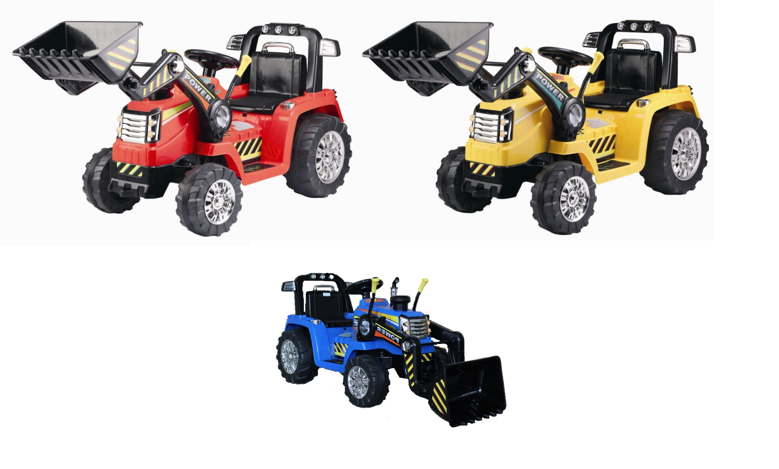 RC Schlepper Traktor - Bagger Kinder elektro traktor 2 MOTOREN FERNBEDIENUNG NEU