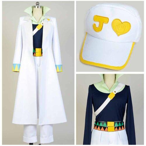 JoJo/'s Bizarre Adventure Kujo Jotaro Cosplay Costume Marine Suit Outfit Uniform