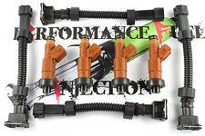 4 - 315cc BOSCH Fuel Injectors OBD2 Honda B, D, H & F Series Civic Integra