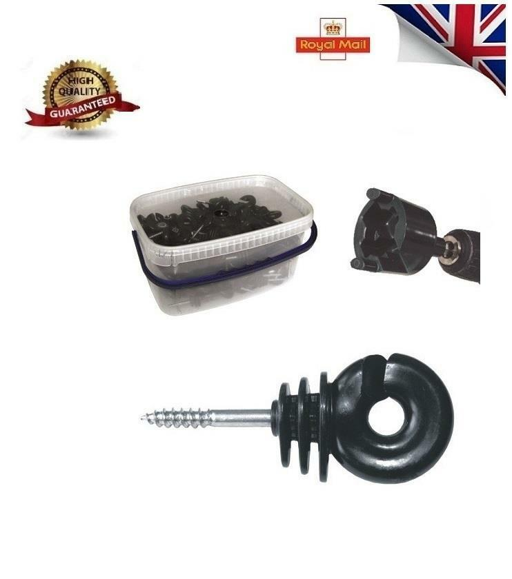 New Ring Insulator  Screw in Fence Electric Fencing with SPINNER  all products get up to 34% off