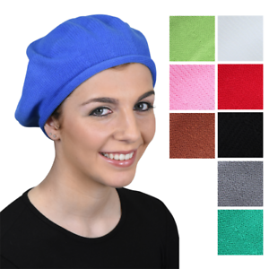 NEW-Cotton-Beret-for-Women-Stylish-Soft-Comfortable-Ladies-Hat-Great-Colors