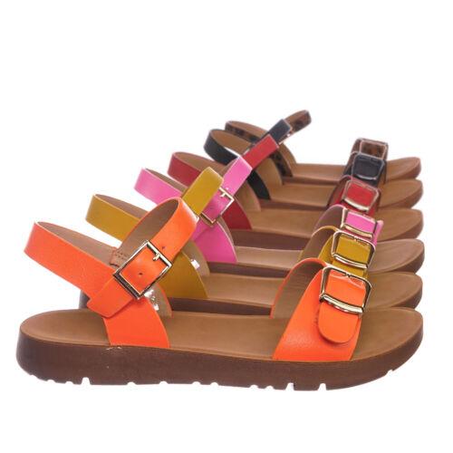 Kids Size Open Toe Shoe Reform9k Girl Children Comfort Flat Sandal