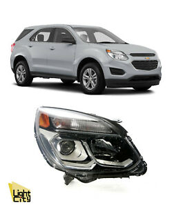 2016-2017 Chevy Equinox Factory Halogen Passenger Side Headlight RH