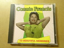 CD / CONNIE FRANCIS: 13 BEAUTIFUL MEMORIES