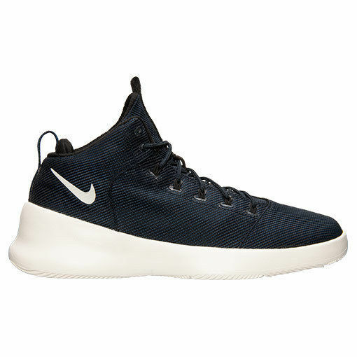 Nike Hyperfr3sh Mid Off Court Shoes Obsidian Sail Black 9 759996 400 Mens Size 9 Black 77f722