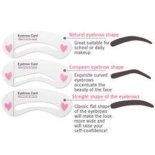 BIOAQUA Brow Class Eyebrow Card Modeling Makeup Pencil Brush 3 Forms