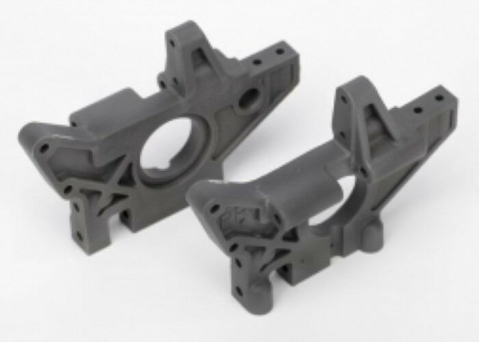 4929R Traxxas R C Car Spare Parts Rear Bulkheads Left & Right Grey TMaxx EMaxx