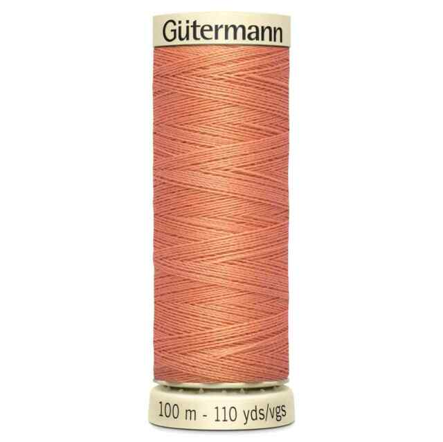 Colour 682 Gutermann Sew All Thread All Purpose Sewing Thread 100m Reels 1//3//5