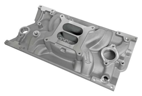Summit Racing Stage 1 Aluminum Intake Manifold Chevy SBC 350 383 w// Vortec Heads