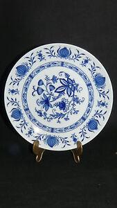 Winterling-Kirchenlamitz-echt-Kobalt-blau-Scharffeuer-Zwiebelmuster-Teller-19-5