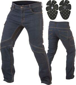 Trilobite-Smart-Hombre-Moto-Jeans-Denim-Pantalones-Moto-Reforzado