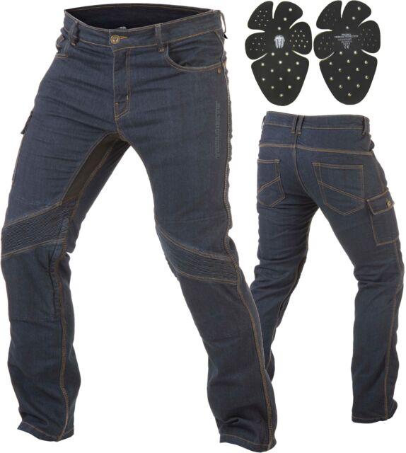 Trilobite Smart Hombre Moto Jeans Tela Vaquera Pantalones Reforzado la Abrasión