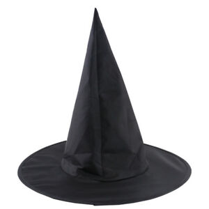 eae82e15a04 Witch Wizard Hat Costume Men Womens Accessory Adult Halloween Party ...