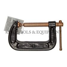 New KING 3 Inch C Clamp, Strong Grip Iron Body Copper-Plated Steel Screw G Clamp