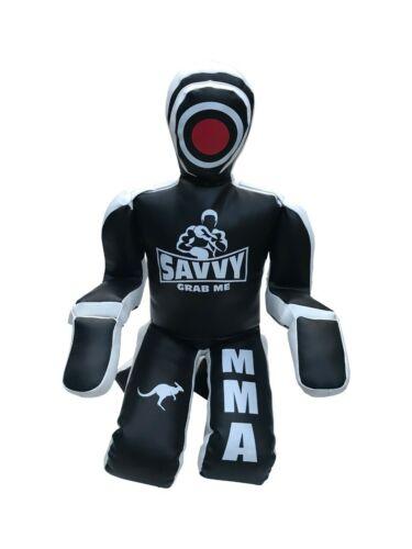 SAVVY GRAPPLING DUMMY PUNCHING JIU JITSU MMA WRESTLING FAIR BAG JUDO MARTIAL