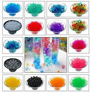 Eau-300pcs-Aqua-Sol-Cristal-Bio-Gel-Balle-Perles-Mariage-Vase-Remplisseur-centerpiec