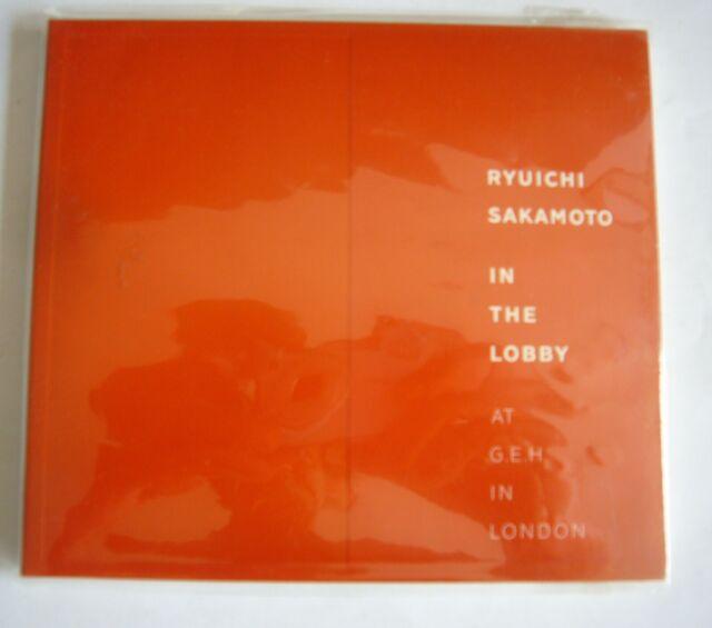 CD- Ryuichi Sakamoto – In the Lobby- at G.E.H. in London-neuwertig