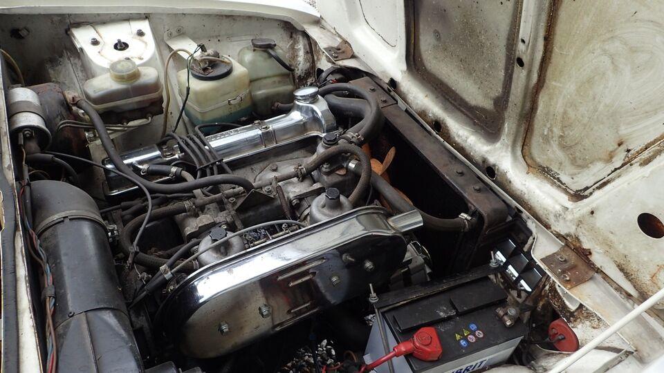 Triumph Dolomite 1,8 1850 Benzin modelår 1975 km 56000 Hvid