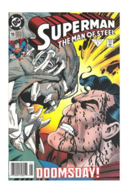 Superman The Man Of Steel 19 Jan 1993 Dc For Sale Online Ebay