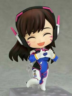 Anime Nendoroid 847 Overwatch D.VA Classic Skin Edition Action PVC Figure In Box