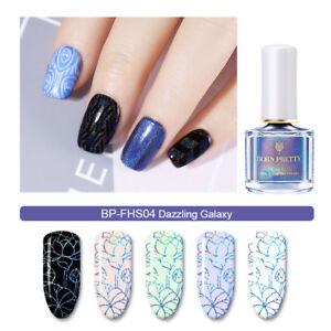 6ml-BORN-PRETTY-Holographic-Nail-Art-Stamping-Polish-Laser-Holo-Varnish-BP-FHS04