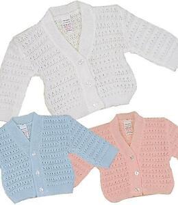 BabyPrem-Baby-Boys-Girls-Unisex-Clothes-Knitted-Acrylic-Soft-Cardigan-Cardi