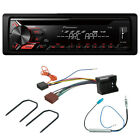 Peugeot 307 (2005-07) Stereo Fitting Kit + Pioneer DEH-1900UB CD MP3 USB Player