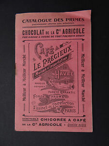 Catalogue-1909-CHOCOLAT-COMPAGNIE-AGRICOLE-Le-Havre-Chicoree-Rhum-Cafe-Paris