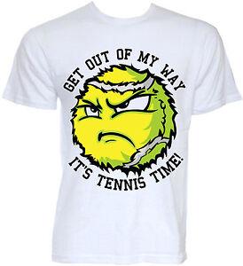 687e9534 TENNIS T-SHIRTS MENS FUNNY COOL NOVELTY TENNIS BALLS SLOGAN JOKE ...