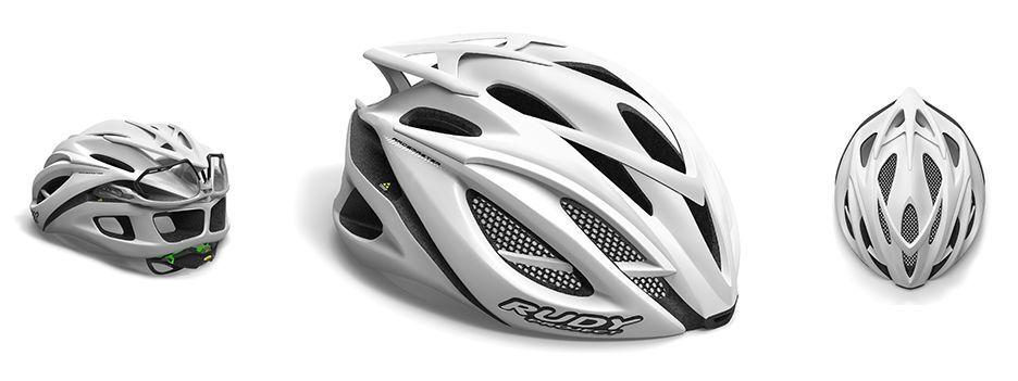 Casco Bici Rudy Project Racemaster blanco Stealth Matt   Helmet Pro