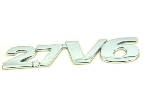 Genuine New SUZUKI 2.7 V6 BADGE For Grand Vitara 2.7 V6 XL-7 TD SE HDi 1998-2005
