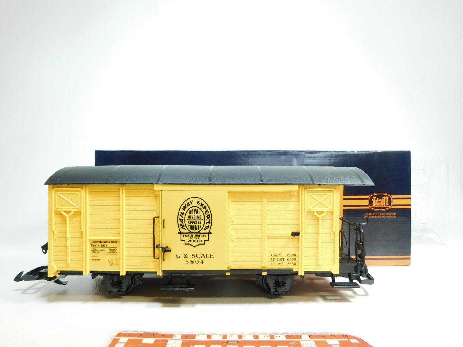 la mejor selección de BH11-2   Train Escala G G G   Iim 757-5804 Vagón de Cochega Cerrado & Escala,Nuevo +  Precio al por mayor y calidad confiable.