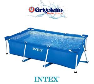 INTEX Piscina rettangolare FRAME 300X200 h. 75 cm - Pompa NON inclusa -Art.28272