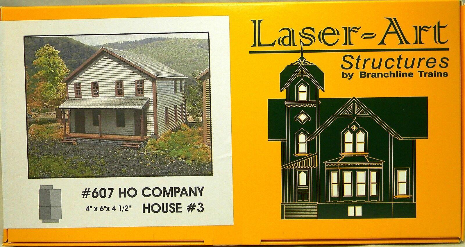 ofreciendo 100% Ho Ho Ho Nuevo en Caja Branchline Laser-Art  607 Company Casa  3 Kit  encuentra tu favorito aquí