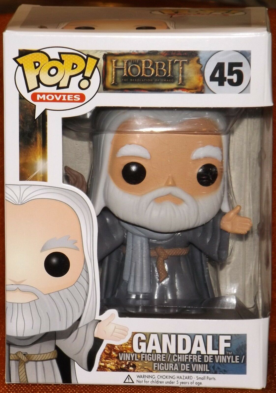The Hobbit Funko Pop Gandalf the grigio  45 Vinyl Figure Desolation of Smaug