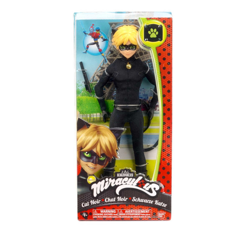 Miraculous Cat Noir 10.5inch Action Figure Original Bandai New In Box