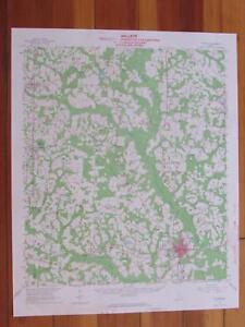 Map Of Quitman Georgia.Quitman Georgia 1964 Original Vintage Usgs Topo Map Ebay