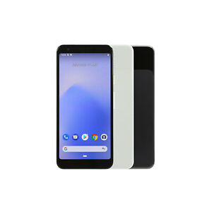 Google-Pixel-3a-64GB-Weiss-Schwarz-Ohne-Simlock-Haendler-DE-Gebraucht